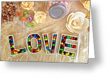 Love Candies Greeting Card by Lars Ruecker
