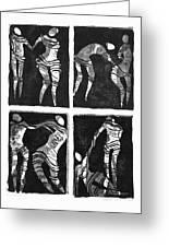 Love Is A Dance Greeting Card by Gun Legler