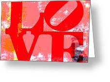 Love Is Love. Greeting Card by Brandi Fitzgerald