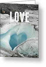 Love Greeting Card by Jennifer Kimberly