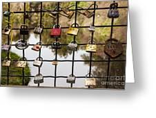 Love Locks Greeting Card by Juan Romagosa