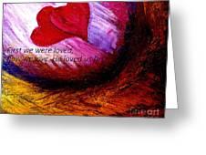 Love Of The Lord Greeting Card by Amanda Dinan