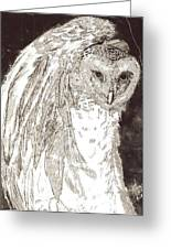 Love Owl Greeting Card by George Harrison