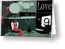 Love Potion No9 Greeting Card by Kate Paulos