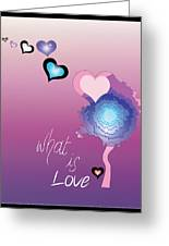Love Greeting Card by Sara Ponte