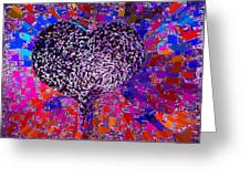 Love's Abyss And All About This Greeting Card by Kenneth James