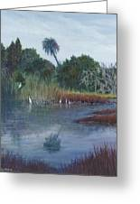 Low Country Social Greeting Card by Ben Kiger
