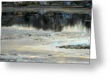 Low Water at Lake Garfield Greeting Card by Geoffrey Coelho