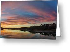 Lowcountry Sunset Charleston Sc Greeting Card by Dustin K Ryan