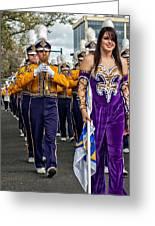 Lsu Marching Band 5 Greeting Card by Steve Harrington
