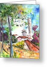 Lucca In Italy 01 Greeting Card by Miki De Goodaboom