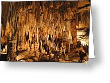 Luray Caverns - 1212134 Greeting Card by DC Photographer
