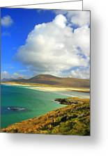 Luskentyre Beach  Greeting Card by The Creative Minds Art and Photography