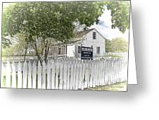 Lydia Leister Farm - Civil War Hospital Greeting Card by Dyle   Warren