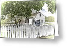 Lydia Leister Farm - Civil War Hospital Greeting Card by Dyle   Warren