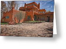 Mabel Dodge Luhan House  Greeting Card by Charles Muhle