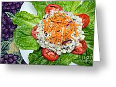 Macaroni Salad 1 Greeting Card by Andee Design