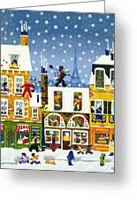 Made In Paris Greeting Card by Merry  Kohn Buvia