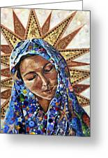 Madonna Of The Dispossessed Greeting Card by Mary C Farrenkopf