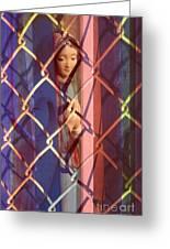 Madonna Photograph - The Virgin Greeting Card by Sharon Hudson