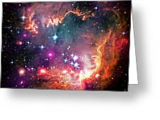 Magellanic Cloud 2 Greeting Card by Jennifer Rondinelli Reilly - Fine Art Photography