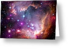 Magellanic Cloud 3 Greeting Card by The  Vault - Jennifer Rondinelli Reilly