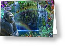 Magic Jungle Greeting Card by Alixandra Mullins