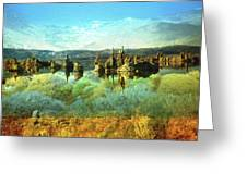 Magic Lake - Fantasy Landscape Greeting Card by Peter Fine Art Gallery  - Paintings Photos Digital Art