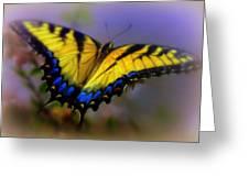 MAGIC of FLIGHT Greeting Card by KAREN WILES