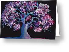 Magic Tree Greeting Card by Anastasiya Malakhova