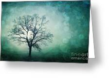 Magic Tree Greeting Card by Priska Wettstein