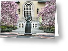 Magnolia Plaza Greeting Card by JC Findley