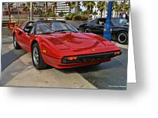 Magnum Pi Greeting Card by Tommy Anderson