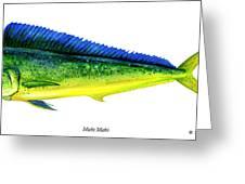 Mahi Mahi Greeting Card by Charles Harden
