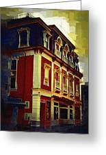 Main Street Usa Greeting Card by Kirt Tisdale