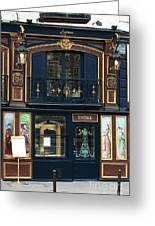 Maison Parisienne Greeting Card by John Rizzuto