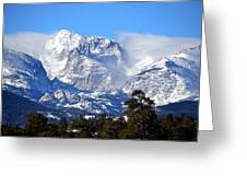 Majestic Mountains Greeting Card by Tranquil Light  Photography