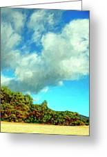 Makena Beach Maui Greeting Card by Dominic Piperata