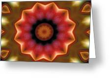 Mandala 103 Greeting Card by Terry Reynoldson