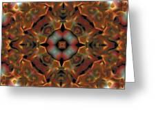 Mandala 119 Greeting Card by Terry Reynoldson
