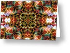 Mandala 120 Greeting Card by Terry Reynoldson