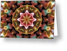 Mandala 92 Greeting Card by Terry Reynoldson