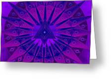Mandala For Ca Symptoms Greeting Card by Sarah  Niebank