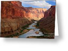 Marble Canyon Greeting Card by Inge Johnsson