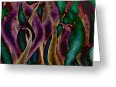 Mardi Gras Greeting Card by Brenda Bryant