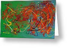 Mardi Gras Greeting Card by Donna Blackhall