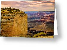 Maricopa Point Grand Canyon Greeting Card by  Bob and Nadine Johnston