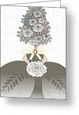 Marie Antoinette IIi Greeting Card by Mira Dimitrijevic