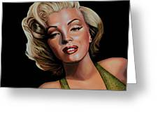 Marilyn Monroe 2 Greeting Card by Paul Meijering
