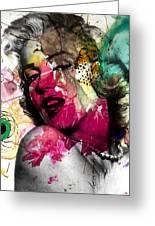 Marilyn Monroe Greeting Card by Mark Ashkenazi
